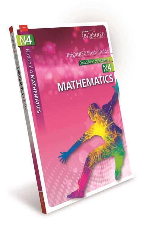 libro national 4 mathematics student brightred publishing national 4 mathematics