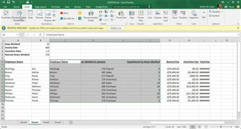how to create a pivot table in excel 2013 how to create a pivot table in excel 2016