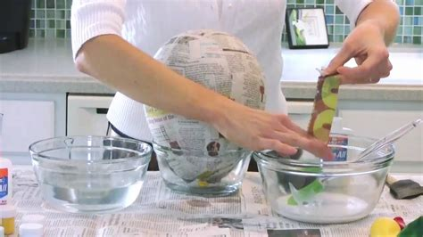 How To Make Paste For Paper Mache - elmer s glue faq how to make paper mache using elmer s