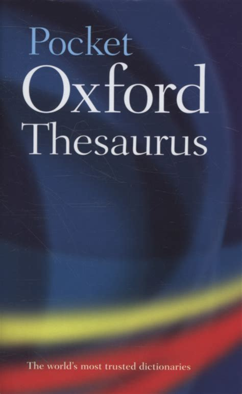 pocket oxford thesaurus pocket oxford thesaurus by oxford dictionaries 9780199534821 brownsbfs