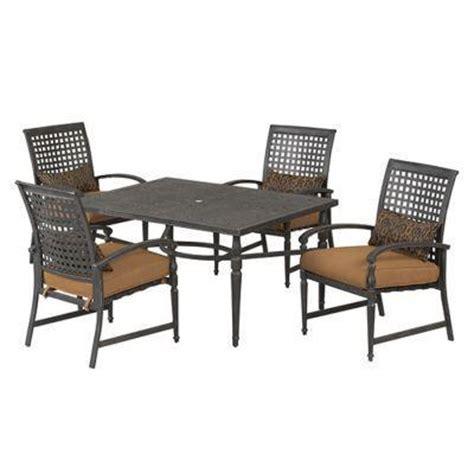 martha stewart living augusta 7 patio dining set