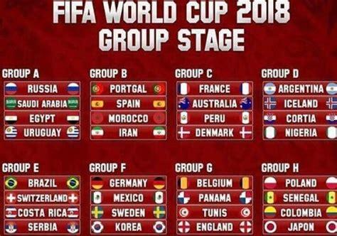 sorteggiati i gironi dei mondiali 2018 in russia zon