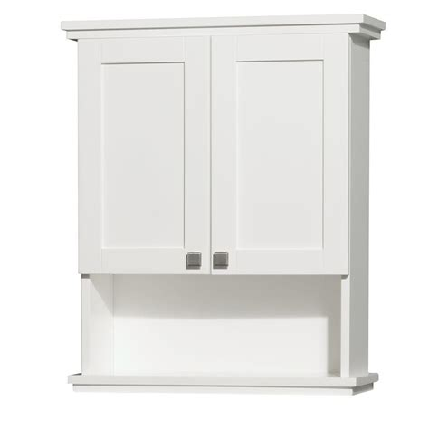 wyndham collection acclaim             bathroom storage wall cabinet