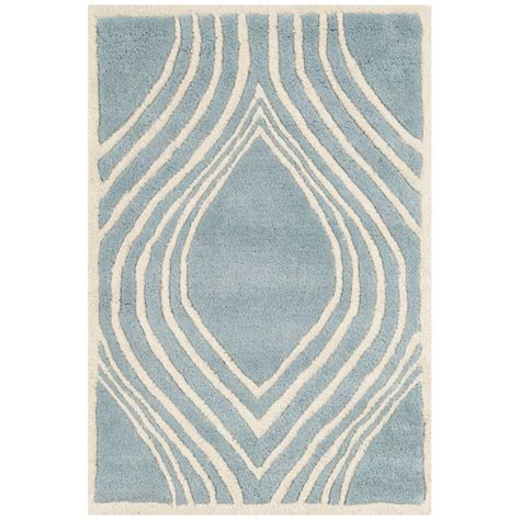carleson ivory and blue rug safavieh chatham blue ivory 2 ft x 3 ft area rug cht758b