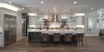 large kitchen with island 50 gorgeous kitchen designs with islands designing idea