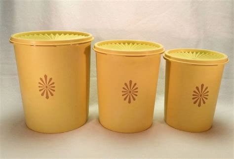 Tupperware Canister Gold best 25 tupperware canisters ideas on diy