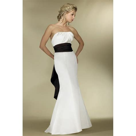 White Bridesmaid Dress by White And Black Bridesmaid Dresses Top 100 Black