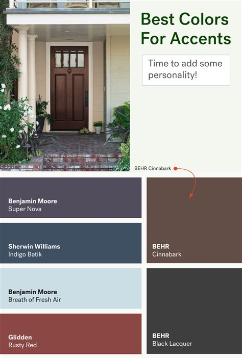 best paint for exterior door the most popular exterior paint colors huffpost