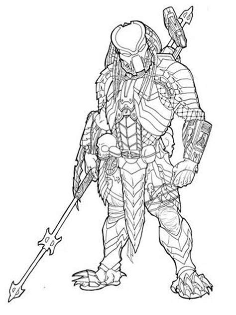 predator coloring pages predator pages coloring pages