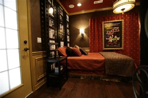 movie theater themed bedroom vintage disney theater bedroom