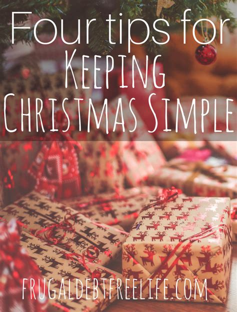 simplifying christmas  tips  keeping  holidays