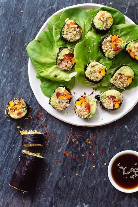 Veggie Sushi Rolls Recipe veggie sushi rolls nutrition stripped recipes