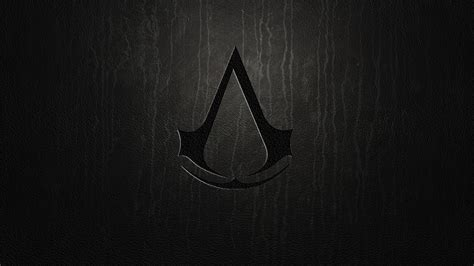 dark wallpaper logos assassins creed dark logo wallpaper hd
