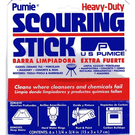 Pumie Scouring Stick by Pumie Scouring Stick Hdw 12t The Home Depot