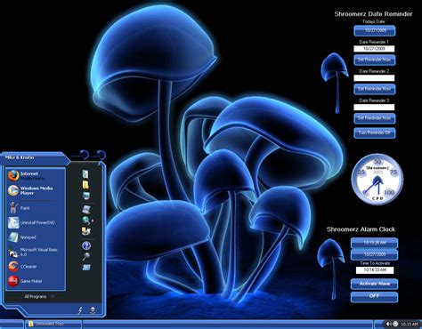 pc themes latest desktop themes desktop themes shroomerz full theme