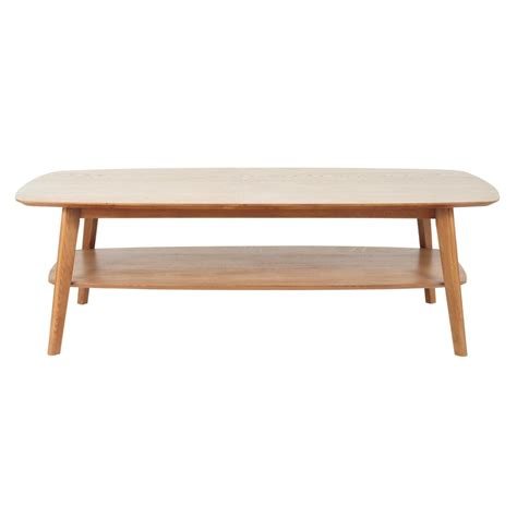 Table Basse En Chene Massif table basse en ch 234 ne massif l 130 cm portobello maisons