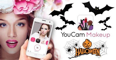 tutorial youcam makeup filtro para fotos halloween youcam maquiagem de dia das