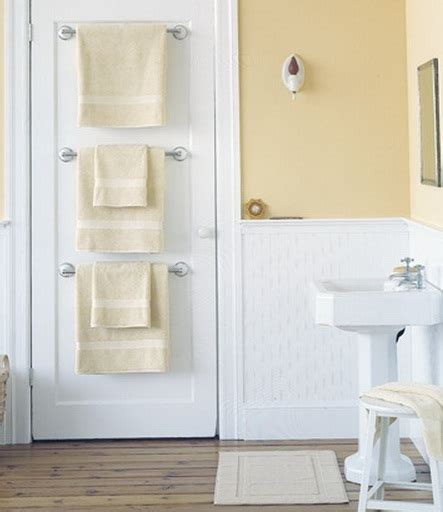 behind bathroom door storage bathroom towel storage ideas 14 smart and easy ways
