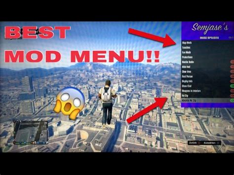 mod gta 5 rp gta 5 best mod menu ever semjases 2 5 give other