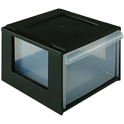 stackable storage boxes with drawers stacking dvd storage drawer in media storage boxes