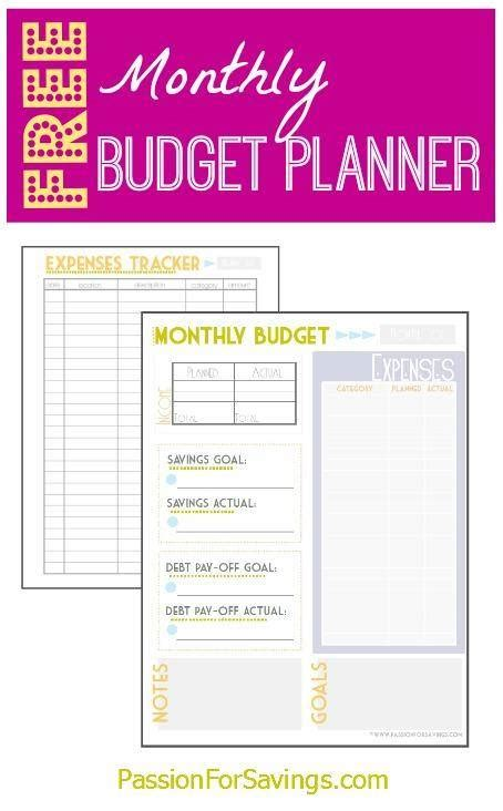 printable budget planner free monthly budget planner free driverlayer search engine