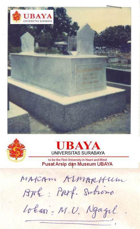 Rd Surabaya prof rd soebijono tjitrowinoto s h rektor ubaya 1976