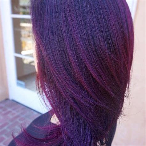 Different Types Of Burgundy Hair Color by Types 8 Burgundy Violet Hair Color Serpden