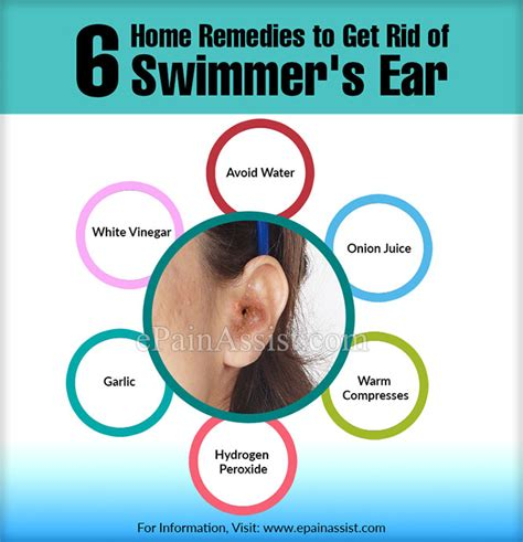 6 home remedies to get rid of swimmer s ear