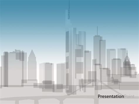 skyline animation templates  powerpoint  skyline animation  template