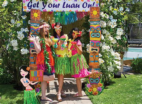 hawaiian themed backyard triyae com hawaiian themed backyard party various