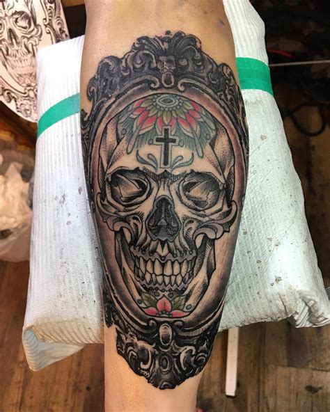 mexican rose tattoo collection of 25 mexican skull and roses on arm