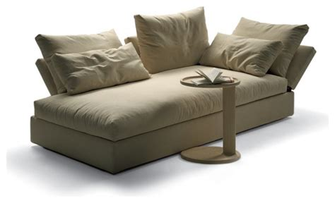 day bed chaise flexform sunny chaise longue modern indoor chaise