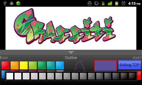 graffiti creator mobile l application du jour graffiti maker android mt