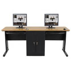 dual workstation computer desk diy wedding buffet table dual workstation computer desk
