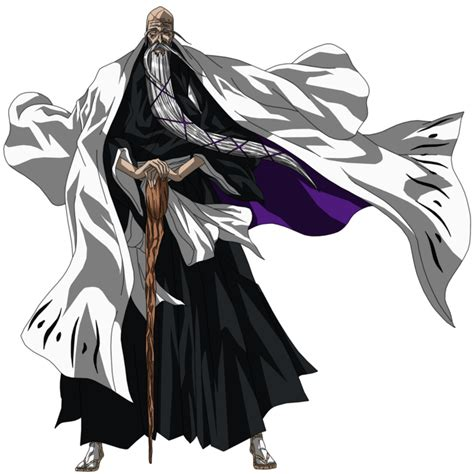 anime bleach genryusai genryusai shigekuni yamamoto by esteban 93 on deviantart