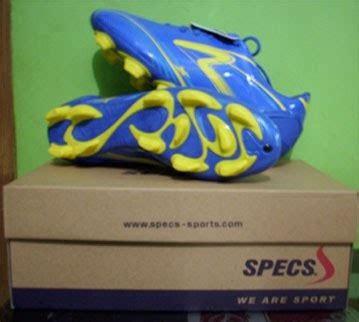 Sepatu Bola Specs Pul 6 distributor sepatu sepatu bola specs accelelator biru