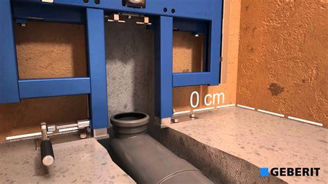 Gamma Hangend Toilet Plaatsen by Installatie Film Geberit Up 720 Youtube