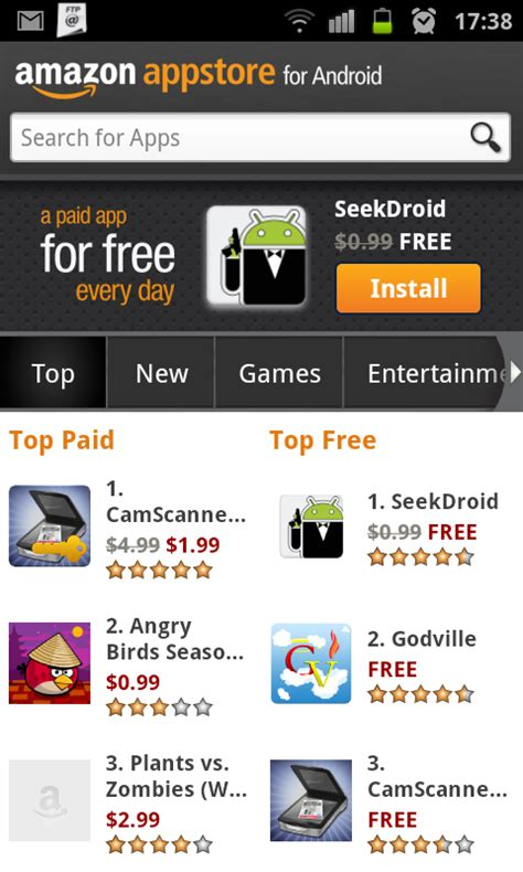 amazon appstore apk free download amazon appstore for android apk unbound