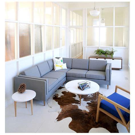 sofa sale adelaide gus modern adelaide charcoal bi sectional eurway