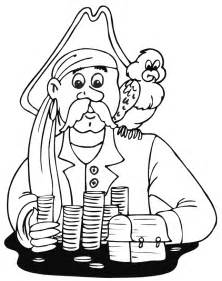 pirate coloring page pirate coloring pages coloringpages1001