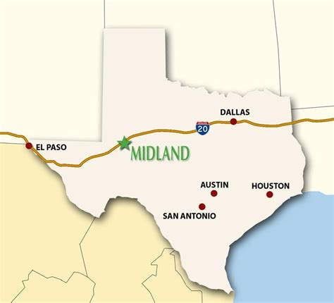 map of midland texas midland transportation visit midland texas