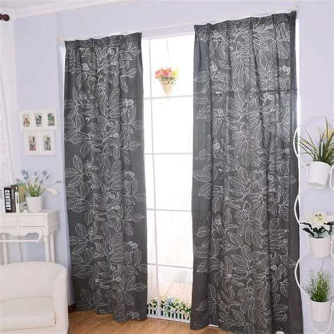 gray valance curtain curtains for grey living room modern house