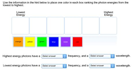 color rating solved use the information in the hint below to place one