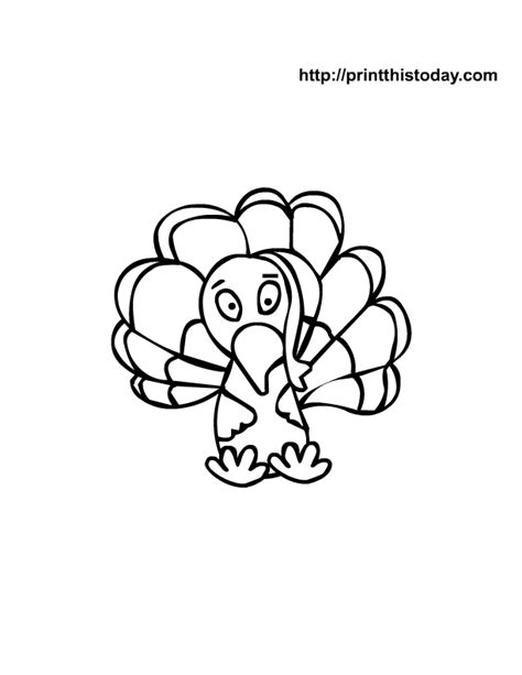 cute coloring pages of turkeys free printable thanksgiving coloring pages