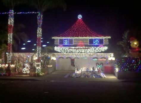 mission viejo christmas lights the santa claus house mission viejo