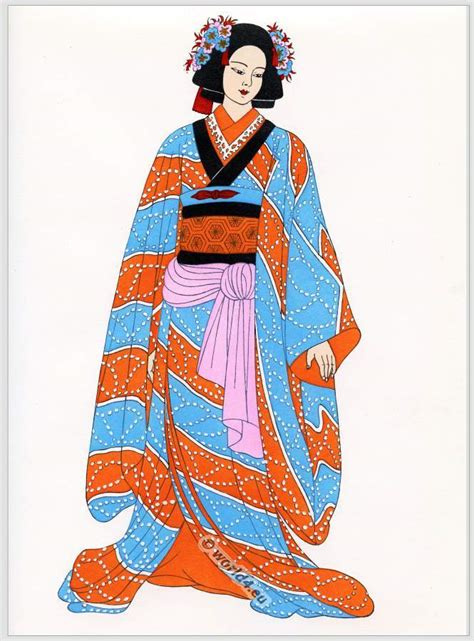 Traditional Japanese Costume java japan and indonesia costumes costume history