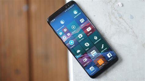 samsung galaxy s mobile galaxy s8 avec windows 10 mobile des images circulent