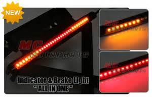 Led Motorcycle Brake Lights Strips Rear Integrated Indicator Brake Led Bar Light For Ktm Motorcycles Ebay