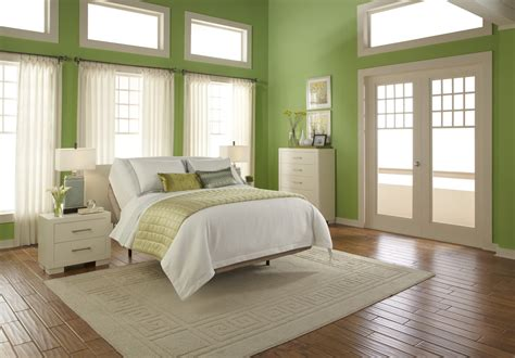 light green and white bedroom lime green wall room plus glass windows and doors combined