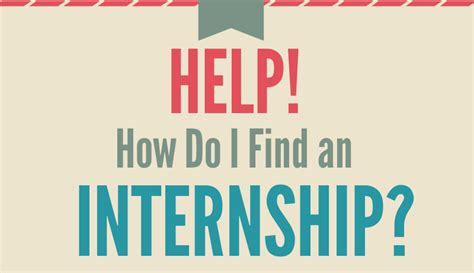 find an intern workshop how do i find an internship career center